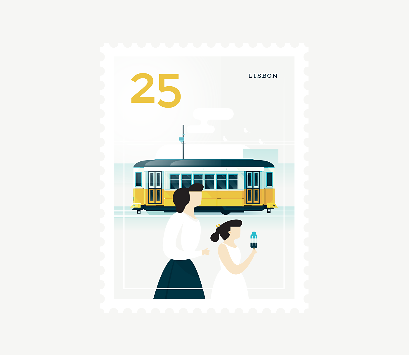 Stamp : Cities - Lisbon